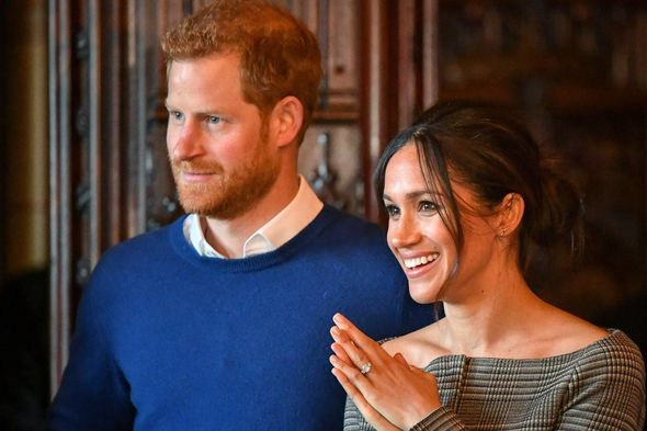 Omid Scobie recalled getting access to Meghan by being invited to her last public event as a senior royal