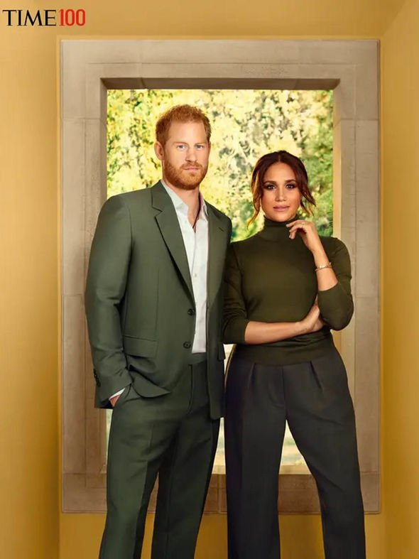 Meghan and Harry's TIME cover has been criticised
