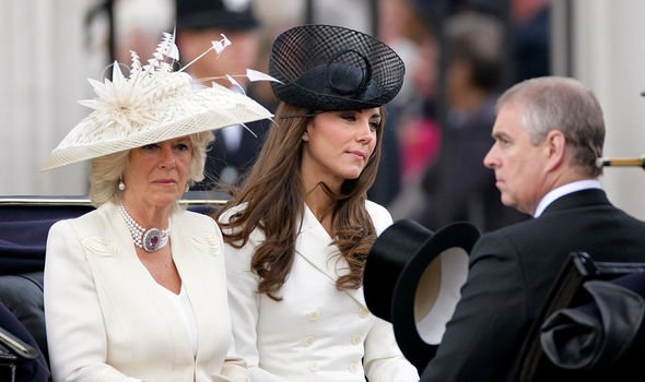 Prince Andrew: Reports over the years suggest the pair don't get along all that well
