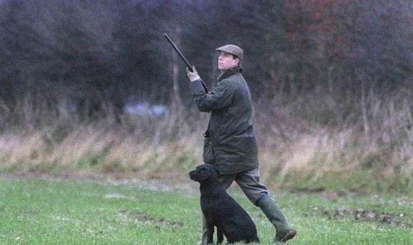 Prince Andrew held a shooting party