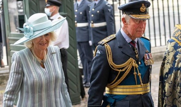 Prince Charles and Camilla hail 'remarkable' Battle of Britain victory in touching service