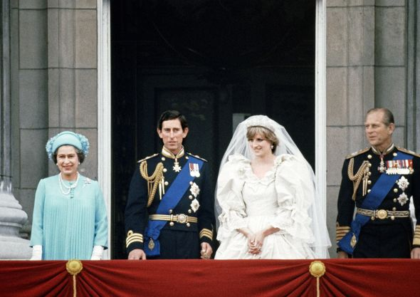 Prince Charles and Princess Diana's wedding in 1981