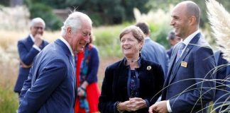 Prince Charles surprises picnickers during 'critical' biodiversity visit to Kew Gardens