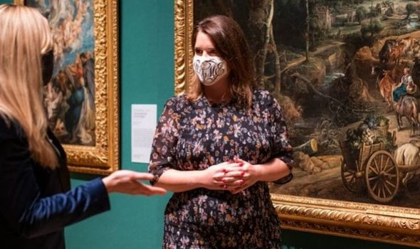 Prince Eugenie appears in the Sky Arts show