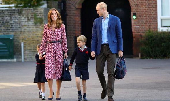 Prince George Princess Charlotte school St Thomas Battersea