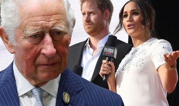 Prince Harry Charles Meghan Archie news