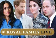 Prince Harry, Meghan and Kate and William