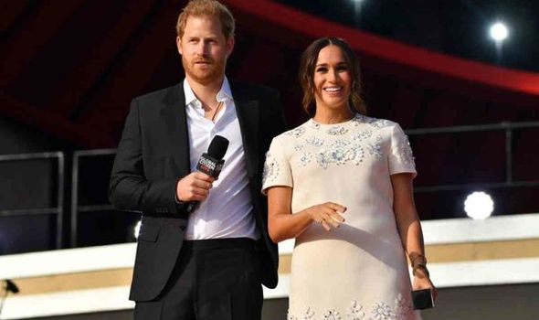 Prince Harry and Meghan Markle attended Central Park's Global Citizens Festival