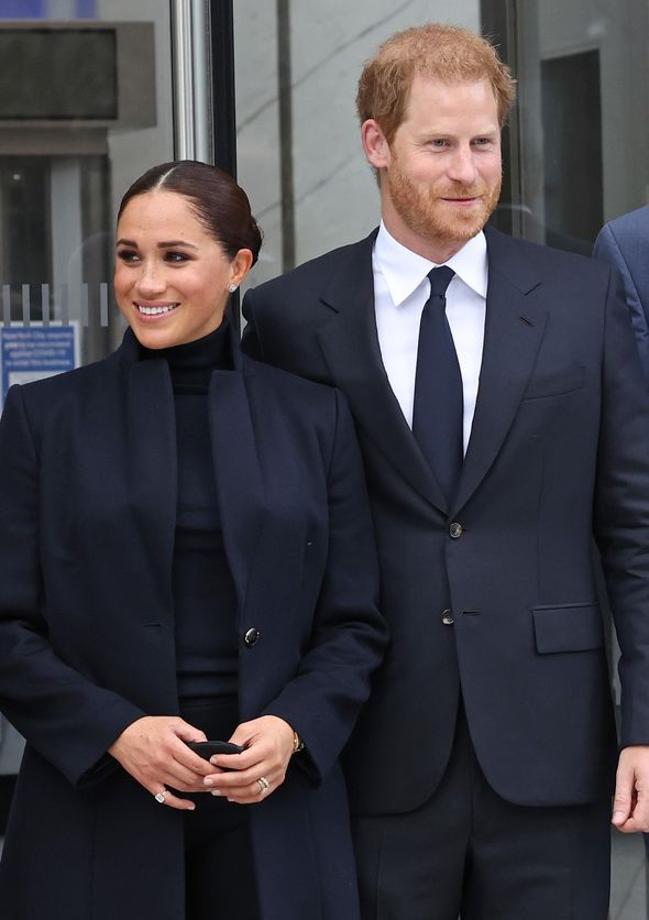 Prince Harry and Meghan Markle in NYC