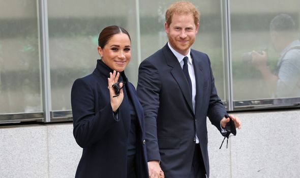 Prince Harry and Meghan in New York