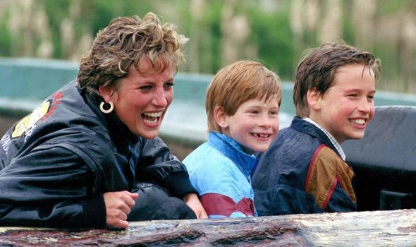Harry, Will and Diana
