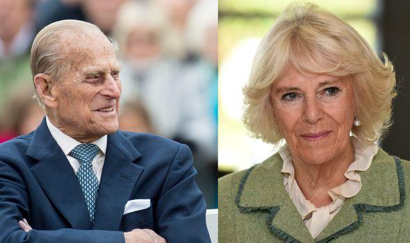 Prince Philip and Camilla