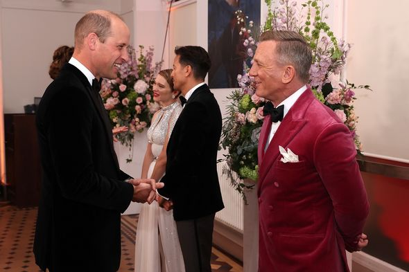 Prince William meets the cast of the new film