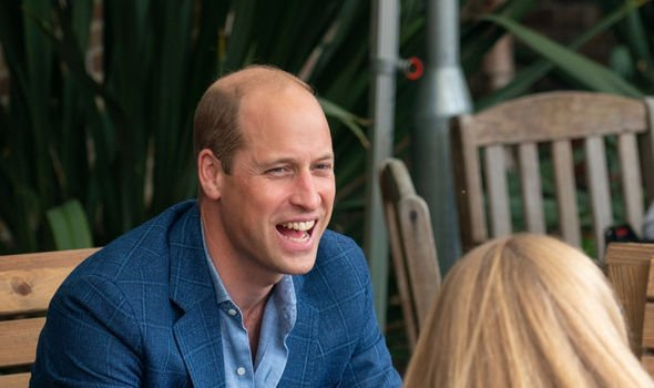 Prince William meets with London families