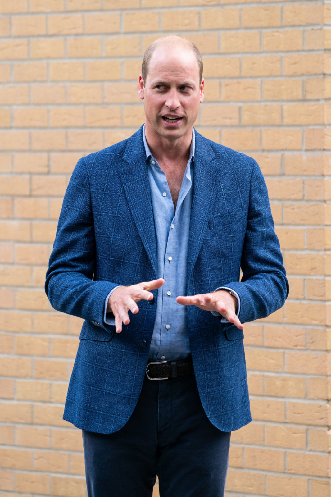 Prince William's shirt stole the show