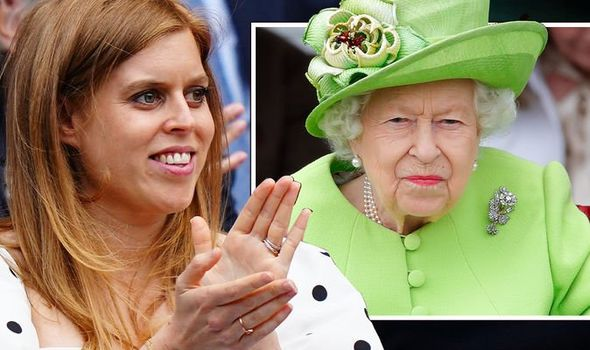 Princess Beatrice and the Queen