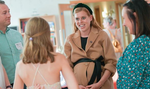 Princess Beatrice at hospice event