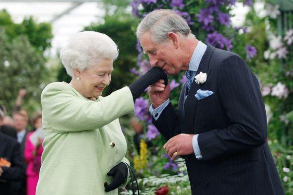 Queen Elizabeth II Charles