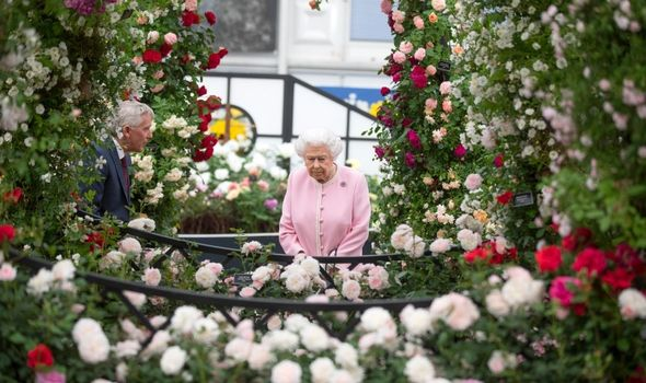 Queen: Is patron of Royal Horticultural Society