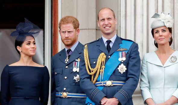 Royal Family tension