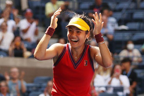 Radacanu won the US Open final against Canada's Leylah Fernandez in a breathtaking 6-4 6-3 match.