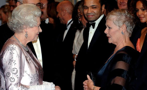 Royal Family film premieres: The Queen and Judi