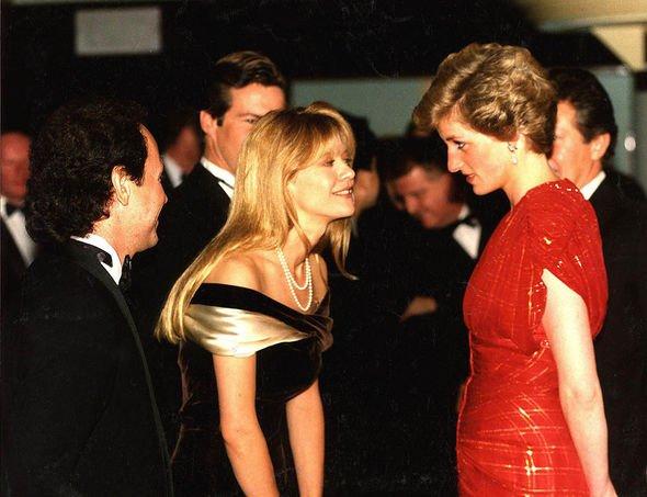 Royal Family film premieres: Diana