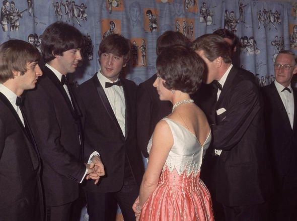 Royal Family film premieres: The Beatles and royal