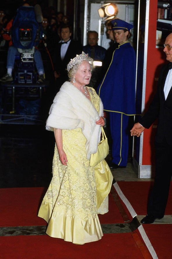 Royal Family film premieres: Queen Mother