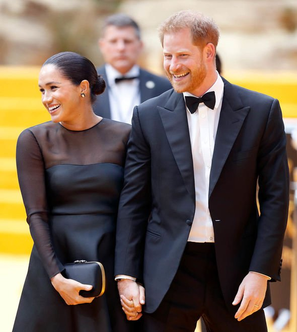 Royal Family film premieres: Sussex couple