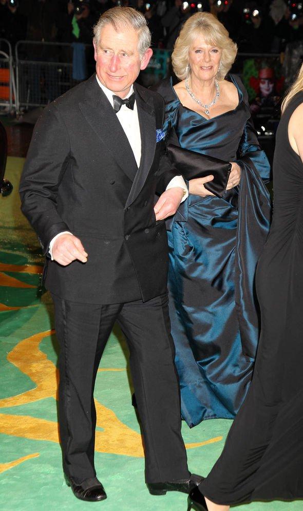 Royal Family film premieres: Camilla and Charles