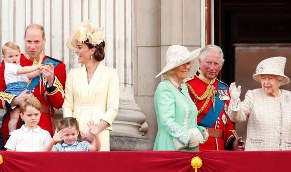Royal Family: to be trimmed back under Charles