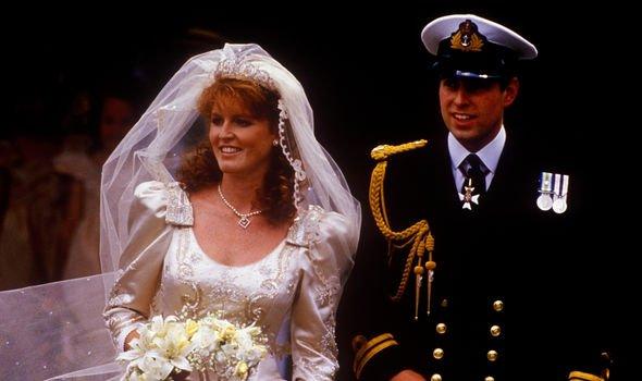 Sarah Ferguson and Prince Andrew getting married