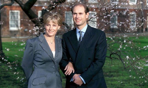Sophie Wessex Prince Edward engagement