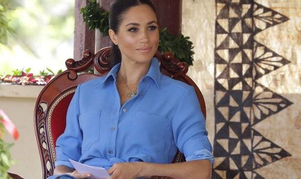 The Duchess of Sussex has been praised by Omid Scobie