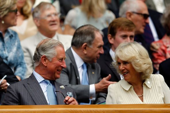 The Duchess was joined by her in-laws, Prince Charles and Camilla, Duchess of Cornwall, in celebrating Radacanu's victory.