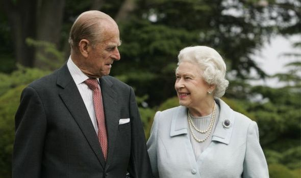 The Queen and her beloved husband
