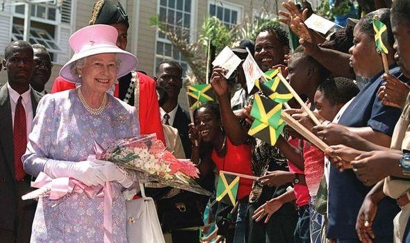 The Queen in Jamaica