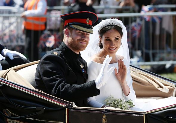 The Sussexes tied the knot little over five months after their engagement announcement at St George's Chapel