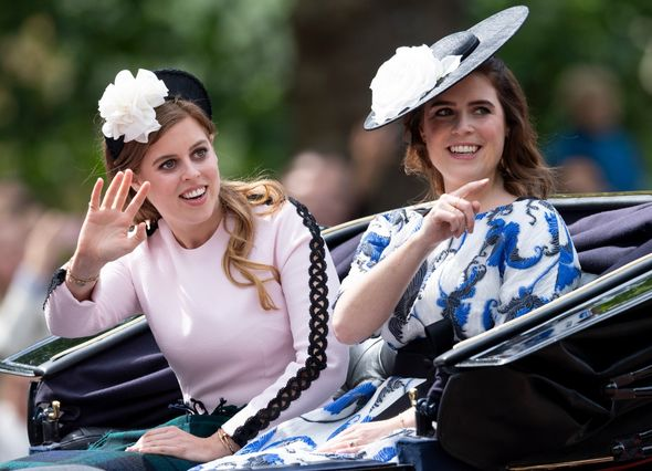 The couple then went on to have two daughters, Princess Beatrice and Princess Eugenie, before they separated in 1992.