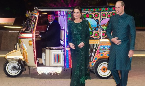 William and Kate: Royal couple visit Pakistan