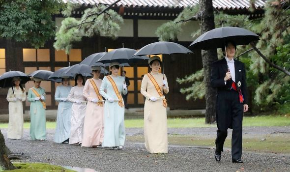 Picture of members of the imperial household
