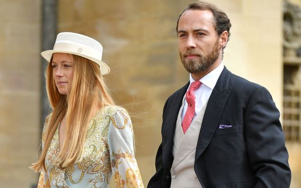James Middleton married Alizee Thevenet in France