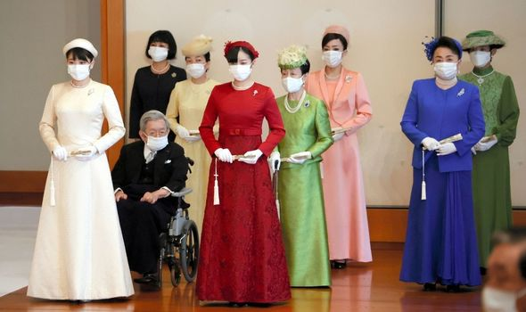 Picture of the imperial household