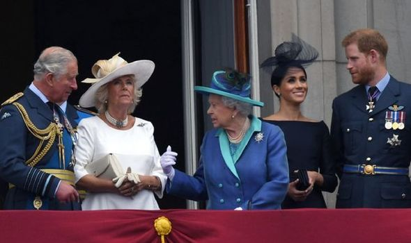 Meghan and Harry would move down 'pecking order'