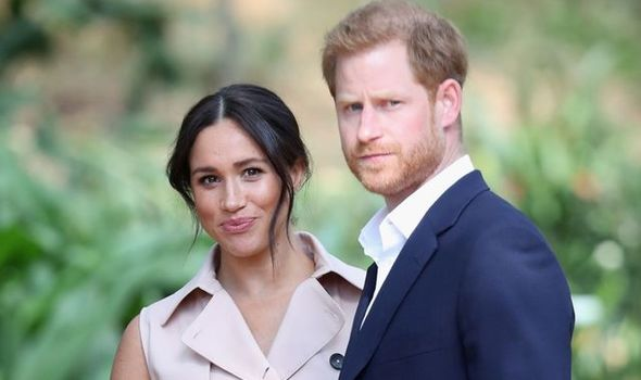Meghan and Harry face being removed from the site
