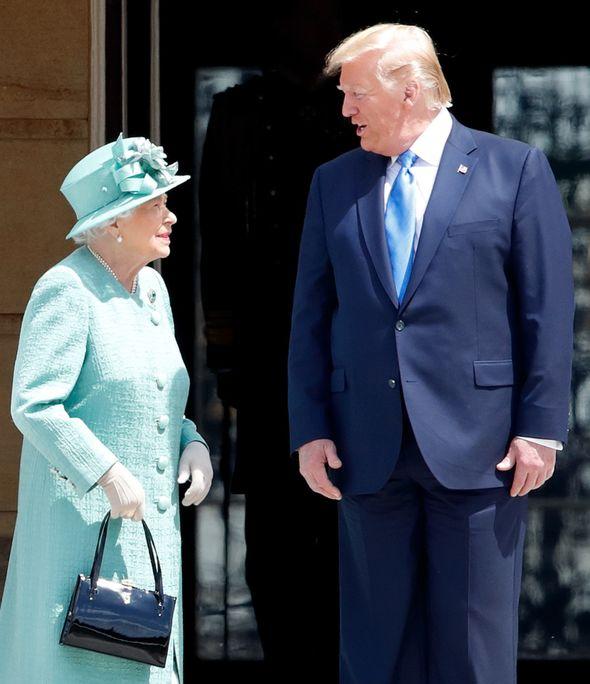 meghan markle donald trump queen
