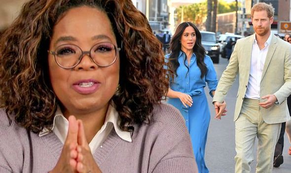Oprah must choose if Meghan and Harry go to Emmys