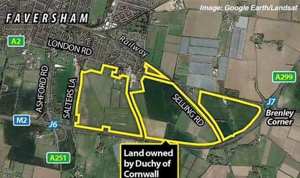 prince charles estate duchy of cornwall new plan 2500 houses faversham kent