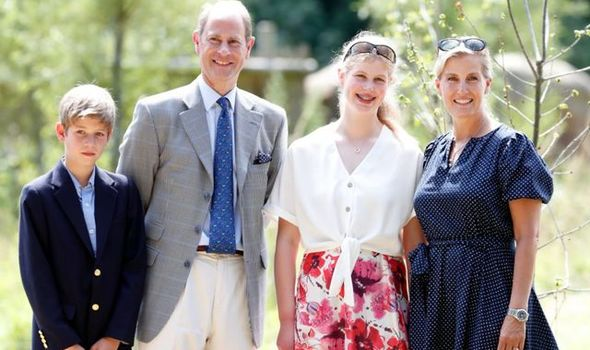 Prince Edward and Sophie have sought privacy